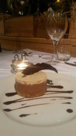 Tarragon Restaurant: Mocha cheesecake