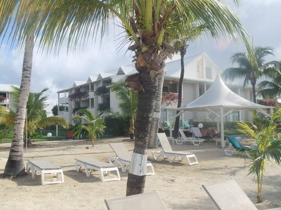 Mercure Saint-Martin Marina & Spa: plage de l hotel