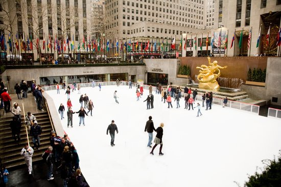 Photo of Tourist Attraction The Rink at Rockefeller Center at 600 5th Avenue (5/6th), New York City, NY 10020, United States