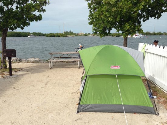 Boyd's Key West Campground: My campsite