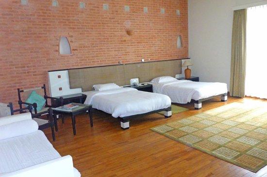 Gokarna Forest Resort : Gokarna Forest Double Bedroom