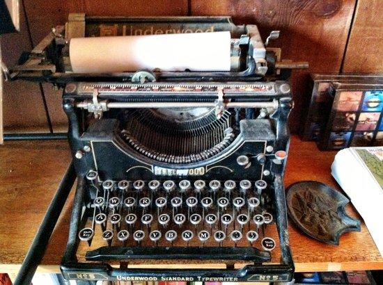 Henry Miller Memorial Library: Henry Miller's typewriter