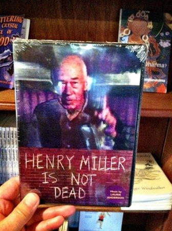 Henry Miller Memorial Library : Henry Miller memorabilia