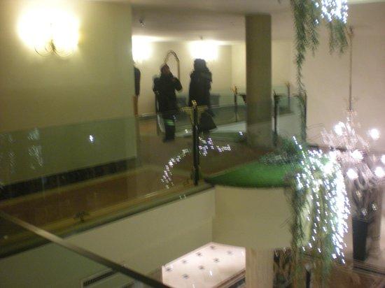 Roseo Hotel Leon D'Oro: hall dall'alto