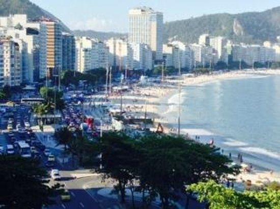 Sofitel Rio de Janeiro Copacabana: View from Room 302