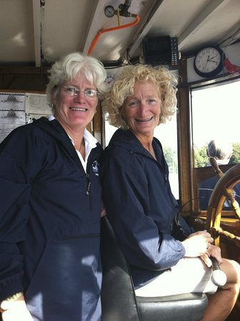 Mid-Lakes Navigation: Two Captains are better than one!