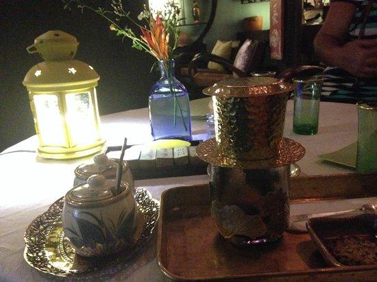 Reaching Out Tea House: Vietnamese coffee