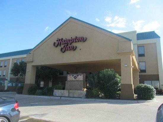 Hampton Inn Killeen : exterior entrance