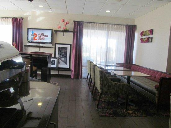 Hampton Inn Killeen : breakfast area