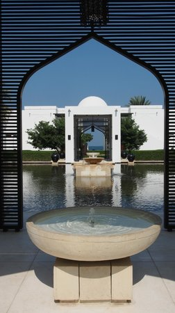 The Chedi Muscat – a GHM hotel: Grounds
