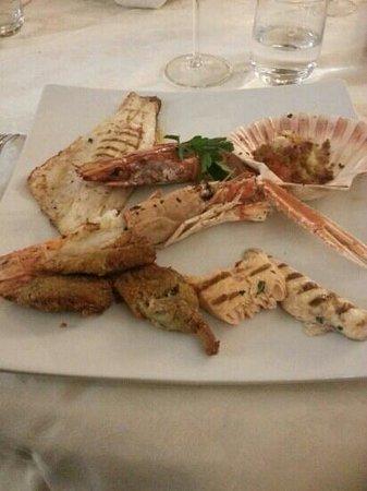 L'Isola di Livi: menù degustazione mare secondo