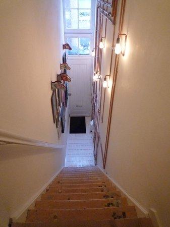 Sjudoransj: funky staircase