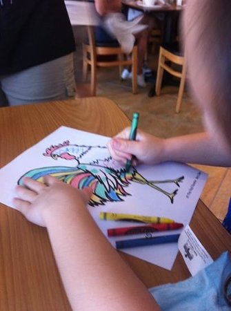 Red Rooster: coloring buster the rooster