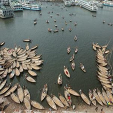 Sadarghat riverport: