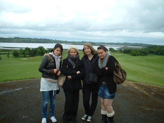 French students on a visit to Glasson Golf & Country Club
