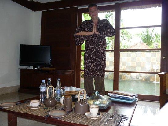 Belmond Jimbaran Puri : Merienda y Bata