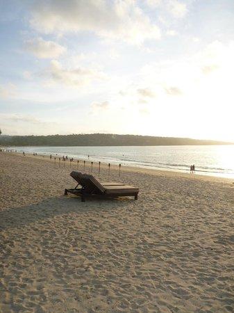 Belmond Jimbaran Puri : Playa del Hotel