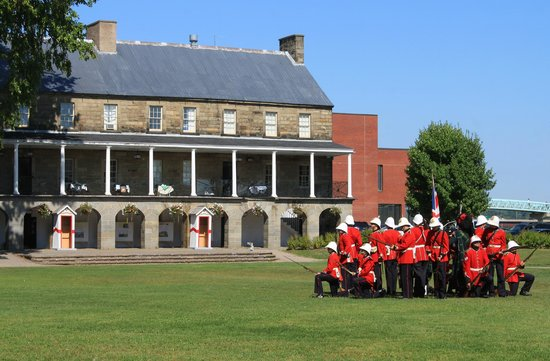 Officers' Square: Changing of the guard