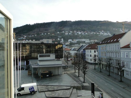 Citybox Bergen: Vista do quarto