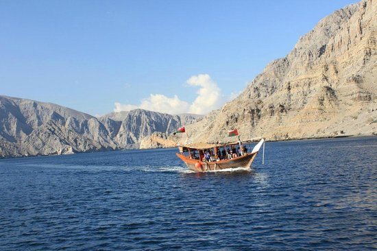 Oman Fjords: dhow cruise