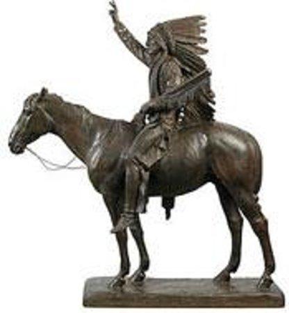 Cyrus Dallin Art Museum: Chief Washakie by Dallin