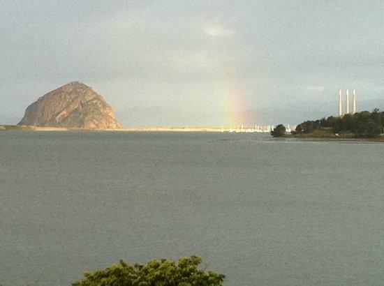 Morro Rock: Rainbow Rock