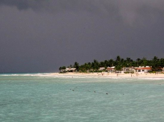 Grand Park Royal Cozumel: Another storm