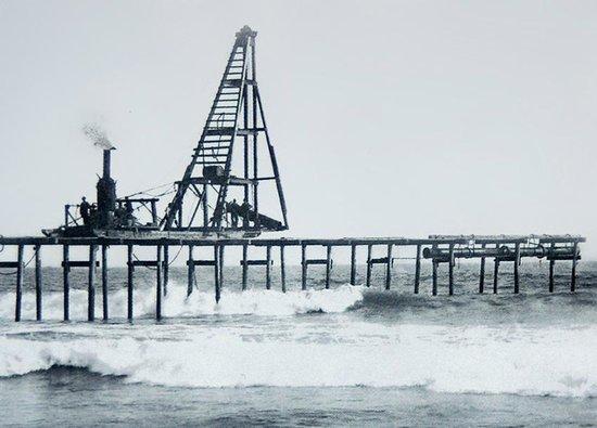 Old Huntington Beach Pier Circa 1904