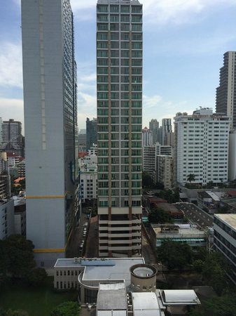 BelAire Bangkok: Room view straight ahead