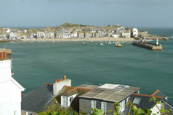 Carlill: St Ives from the Malakoff Gardens