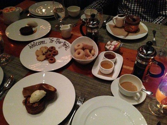 Craft: Öur just desserts!