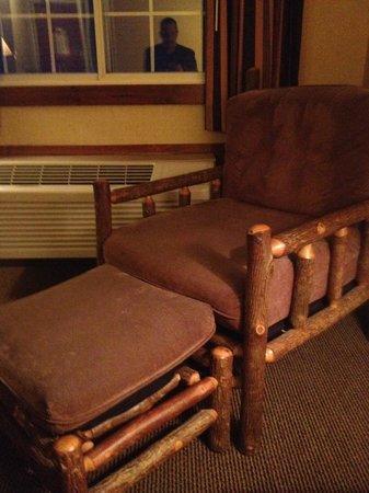 Stoney Creek Inn: Great in-room seating