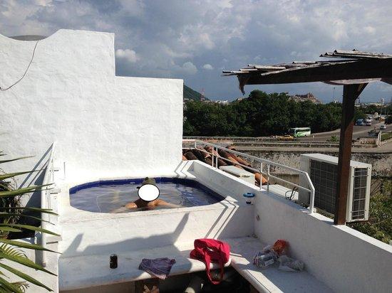 Hotel Boutique el Zaguan : jacuzzi na cobertura