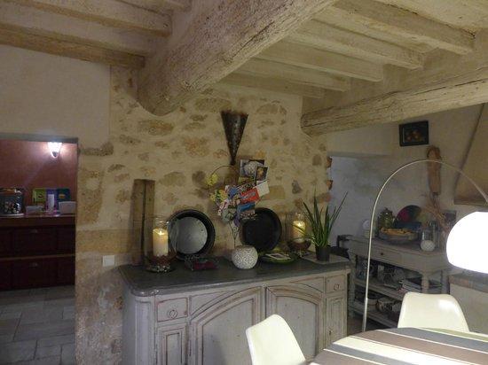 La Louvière des Bruyères : Breakfast area