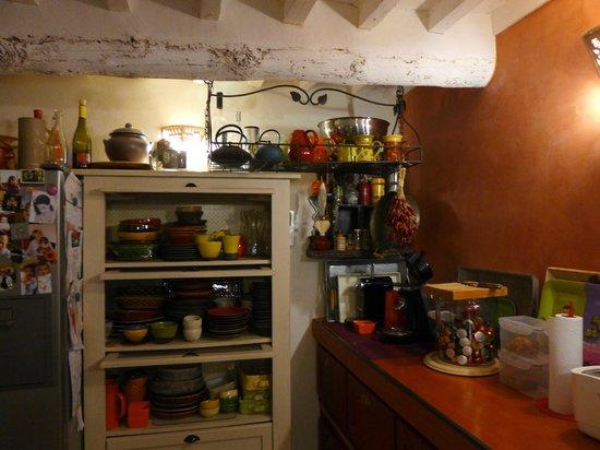 La Louvière des Bruyères : Breakfast/Kitchen