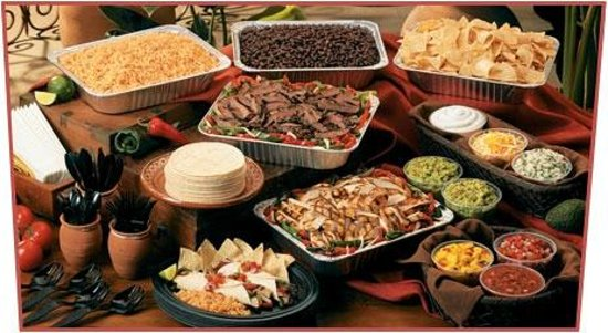 Self Serve taco bar available for Catering - Picture of El
