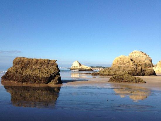 Praia Da Rocha: Maré baixa