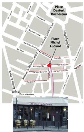 Les Sourires de Dante: Map