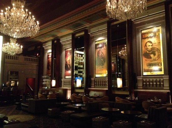 The Langham, Boston: Bond bar :-)