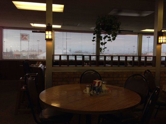 Larger Dining Room Plastic Plants Picture Of Big Train