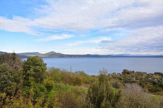 Villa Clodia: Il lago