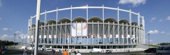 National Arena Stadium Bucharest: entering the stadium