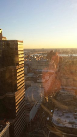 Loews Philadelphia Hotel: Morning view from my room.
