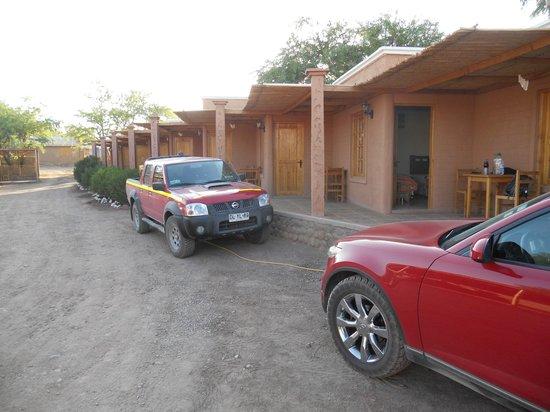 La Casa de Mireya: Varandas dos apartamentos.