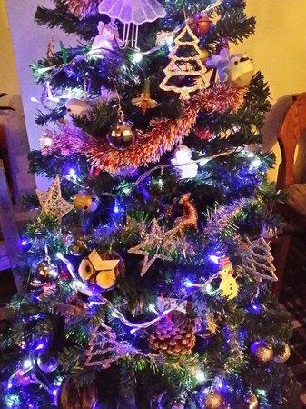 The Mulan Cantonese Restaurant : The Mulan christmas tree(^_^)(^_^)