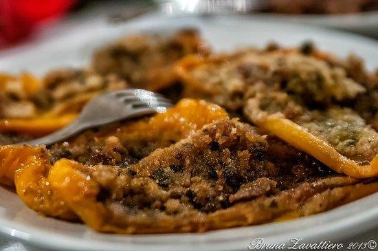 Trattoria alla Scaletta : peperoni gratinati