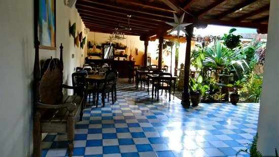 La Islita Boutique Hotel: Dining and common area