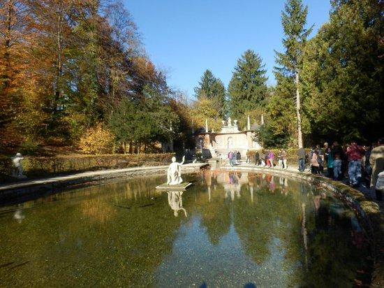 Wasserspiele Hellbrunn: Una de las fuentes