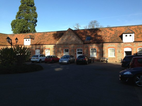 Oakley Hall Hotel: the stable where the rooms are