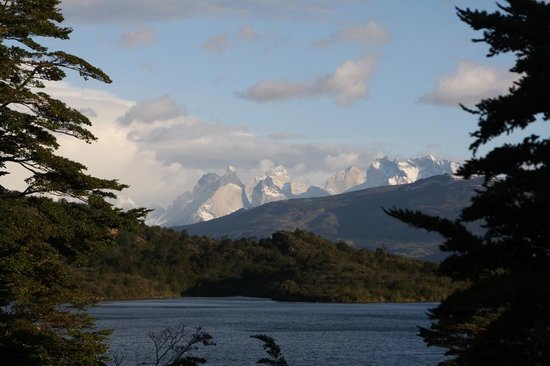 Patagonia Camp: Vista desde yurt